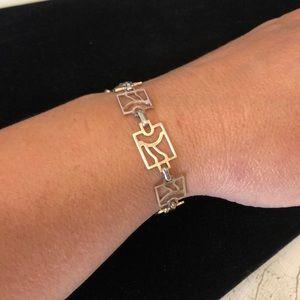 Tax o sterling sun link bracelet